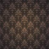 De vectorachtergrond van het damast naadloze patroon. Royalty-vrije Stock Fotografie