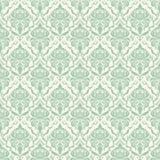 De vectorachtergrond van het damast naadloze patroon. Royalty-vrije Stock Foto's