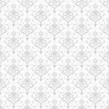 De vectorachtergrond van het damast naadloze patroon. Stock Fotografie