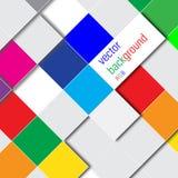 De vectorachtergrond van het kleurenrijm Stock Afbeeldingen