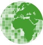 De vectorachtergrond van het tegelsmozaïek Royalty-vrije Stock Foto