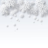 De vectorachtergrond van illustratie abstracte Kerstmis Royalty-vrije Stock Foto