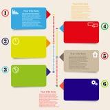 De vectorachtergrond van kleurenmarkeringen Royalty-vrije Stock Fotografie