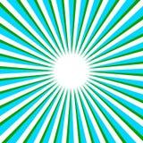 De VectorAchtergrond van stralen Stock Afbeelding