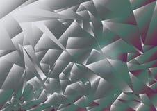 De vectorachtergrond van de tricolordriehoek vector illustratie