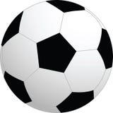 De vectorbal van het voetbal Stock Afbeelding