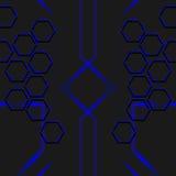 De vectorbanner van de beelddekking Computerstijl Royalty-vrije Stock Fotografie
