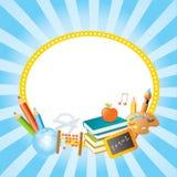 De vectorbanners van de school Stock Afbeeldingen