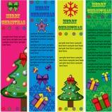 De vectorbanners van Kerstmis   Royalty-vrije Stock Fotografie