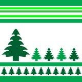 De vectorbomen van Kerstmis Stock Foto