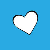 De vectordag van hart bakcground valentijnskaarten Stock Afbeeldingen