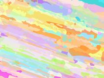 De vectordieachtergrond met een borstel wordt getrokken stock illustratie