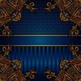 De vectorgrens van de luxebanner Royalty-vrije Stock Foto's