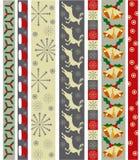 De vectorgrens van Kerstmis Stock Afbeelding