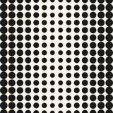De vectorhalftint omcirkelt patroon Halftone puntenachtergrond Stock Afbeelding