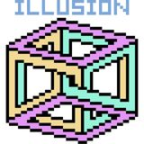 De vectorillusie van de pixelkunst vector illustratie