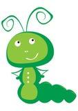 De vectorillustratie van Caterpillar Stock Foto's