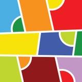 De vectorillustratie van de achtergrondkleurenkunst Stock Afbeelding