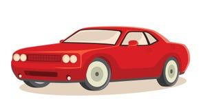 De vectorillustratie van de auto stock illustratie