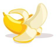 De vectorillustratie van de banaan royalty-vrije illustratie