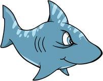 De VectorIllustratie van de haai Stock Foto's