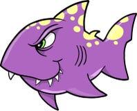 De VectorIllustratie van de haai Stock Foto