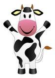 De vectorillustratie van de koe Royalty-vrije Stock Foto