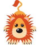 De VectorIllustratie van de leeuw Stock Foto's