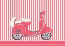 De vectorillustratie van de motorfiets vector illustratie