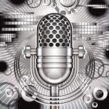 De vectorillustratie van de muziek. Royalty-vrije Stock Fotografie