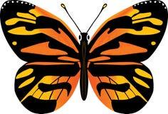 De vectorillustratie van de vlinder vector illustratie