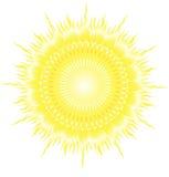 De VectorIllustratie van de zon Royalty-vrije Stock Foto
