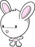 De VectorIllustratie van het Konijn van het konijntje stock illustratie