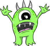 De VectorIllustratie van het monster Royalty-vrije Stock Afbeeldingen