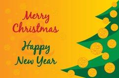 De vectorillustratie van Kerstmis stock illustratie