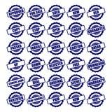 De vectorinzamelingen van de cirkelzegel Royalty-vrije Stock Afbeeldingen