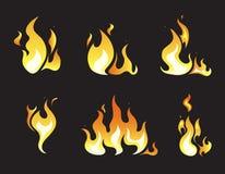 De vectorkaders van de explosieanimatie royalty-vrije illustratie