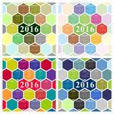 De vectorkalender van 2015 Stock Afbeelding