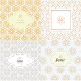 De vectormalplaatjes van het lijn grafische ontwerp Royalty-vrije Stock Foto's