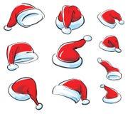 De vectorreeks van de kerstman GLB vector illustratie
