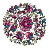 De vectorsamenstelling van de bloem Royalty-vrije Stock Fotografie
