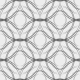 De vectorstoffencirkels vatten naadloos patroon samen Eps 10 stock illustratie