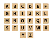 De vectortegels van het woord in verwarring brengende spel Stock Afbeeldingen