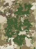 De vectortextuur van de camouflage Stock Fotografie