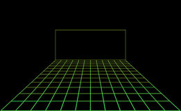 De vectorvloer van de disco lichte dans Stock Foto