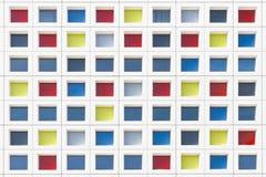 De veelkleurige Vensters van het Bureau Mandrian Royalty-vrije Stock Afbeeldingen