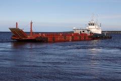 De veerboot Stock Afbeelding