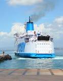 De veerboot. Stock Foto's
