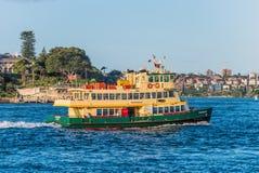 De veerboot Fishburn van Sydney in Sydney, Australië Stock Fotografie