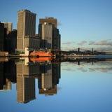 De veerboot Manhattan van het Eiland van Staten Royalty-vrije Stock Fotografie